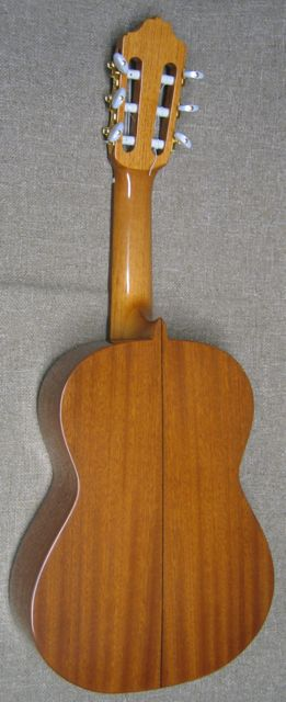 Back of Children's 40cm Guitar