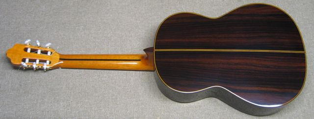 Back of Esteve 8 Classical Guitar