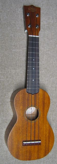 Photo of Kiwaya KTS-4 soprano uke, all-solid wood